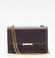 Mara cocktail plum pin stud front