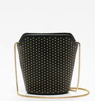 Claudia mini bukcet pin stud bag