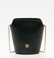 Claudia mini bucket bag black bag