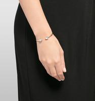 Open crystal thin cuff