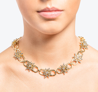 Star collar necklace