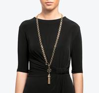 Tassel link chain necklace