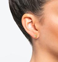 Three set earrings gold 1