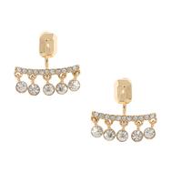 Three set earrings gold 3