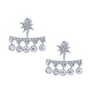 Three set earrings silver