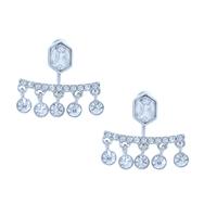 Three set earrings silver 2