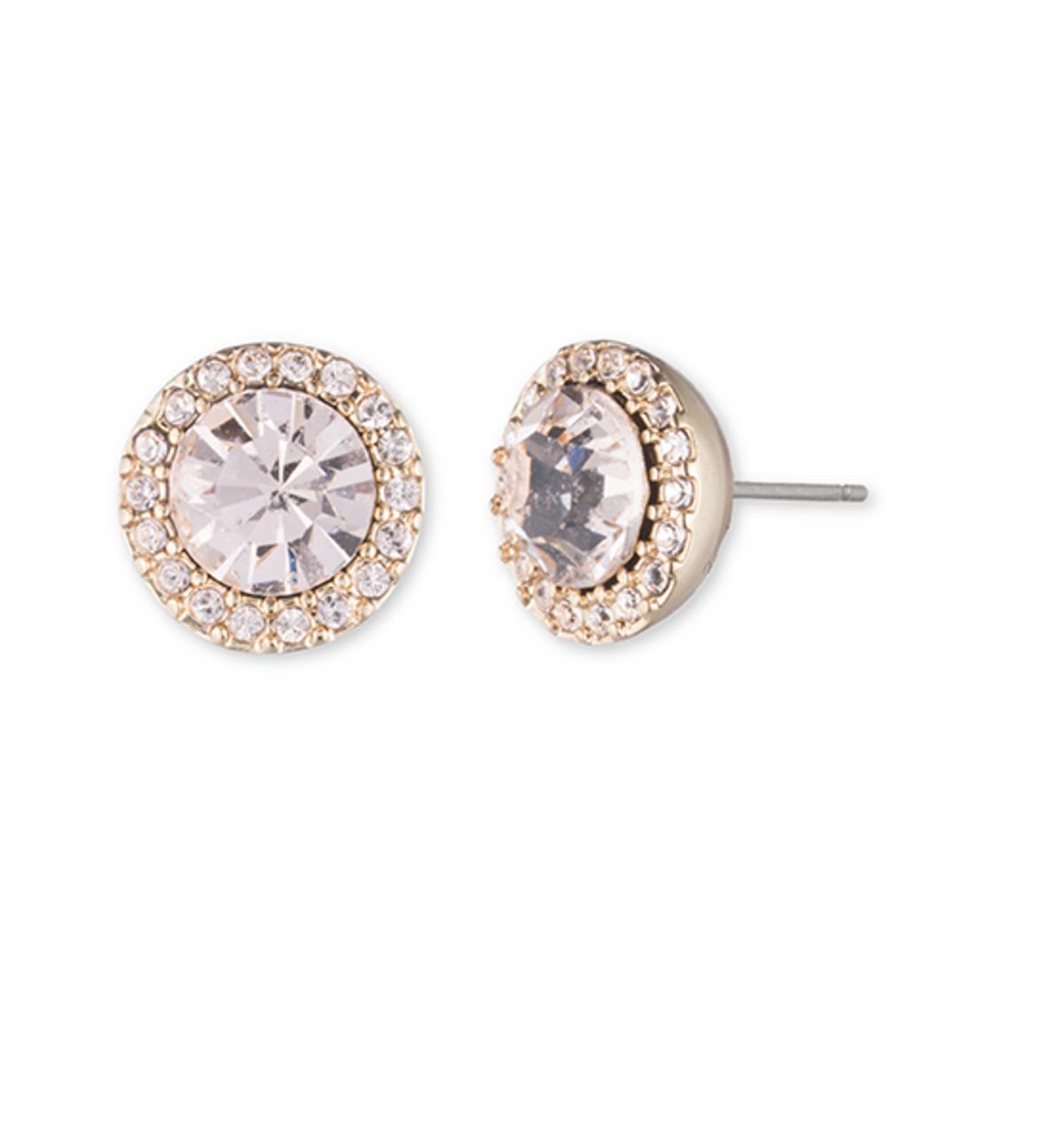 Studded Stone Earrings