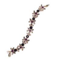 Floral charmed bracelet 2