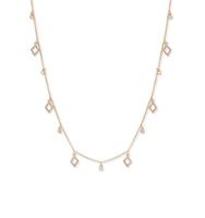 Crystal stranded necklace