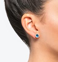 Stud earrings blue