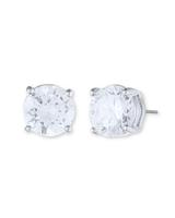 Classic stud earrings   silver