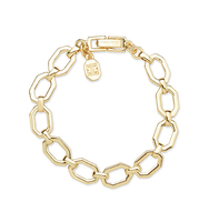Chain flex bracelet   gold