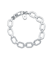 Chain flex bracelet   silver
