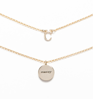 C for courage necklace