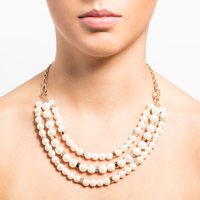 Adjustable multi row necklace 2