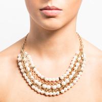 Adjustable multi row necklace 1