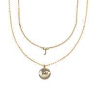 J for joyful necklace