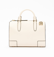 Soho medium satchel snow white