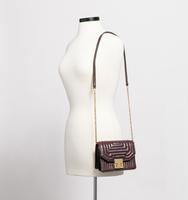 Hopewell mini shoulder bag windsor wine body