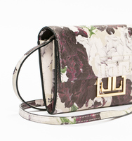Mara crossbody wallet gemstone close