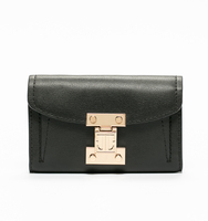 Stanton wallet crossbody black