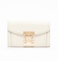 Stanton wallet crossbody snow white