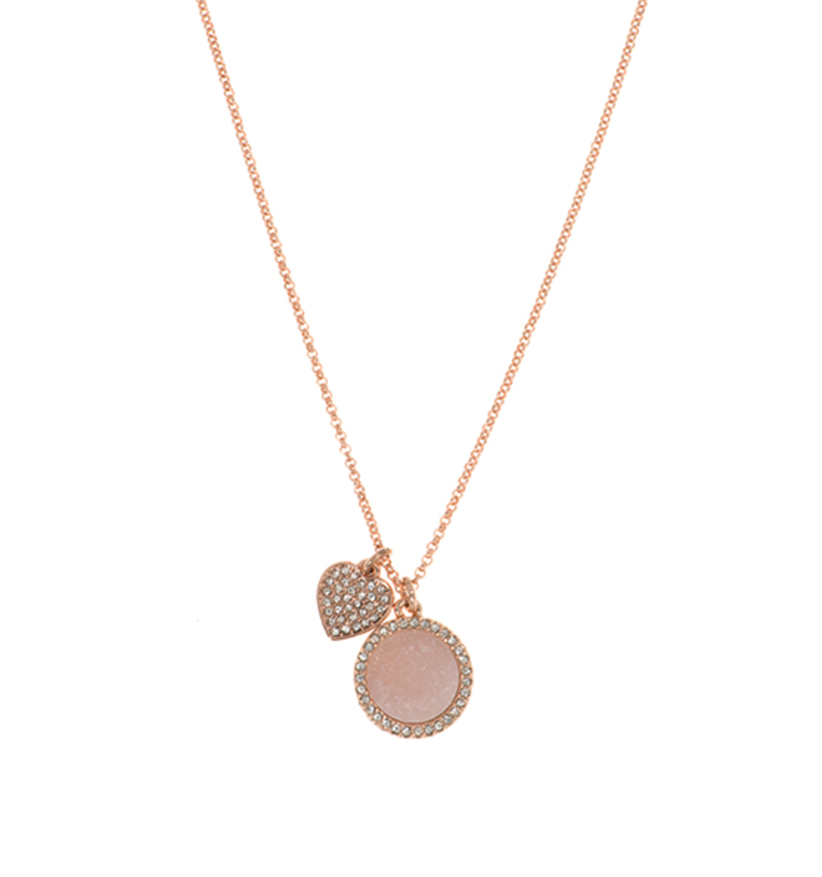 Wise words 2 in 1 heart necklace 2