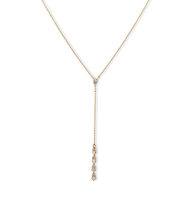 Soho social adjustable y necklace