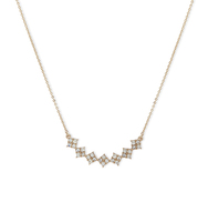 Soho social adjustable frontal necklace