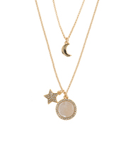 Wise words 2 in 1 star necklace