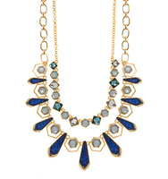 Chrystie drama frontal necklace 2