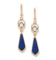 Chrystie double drop earring