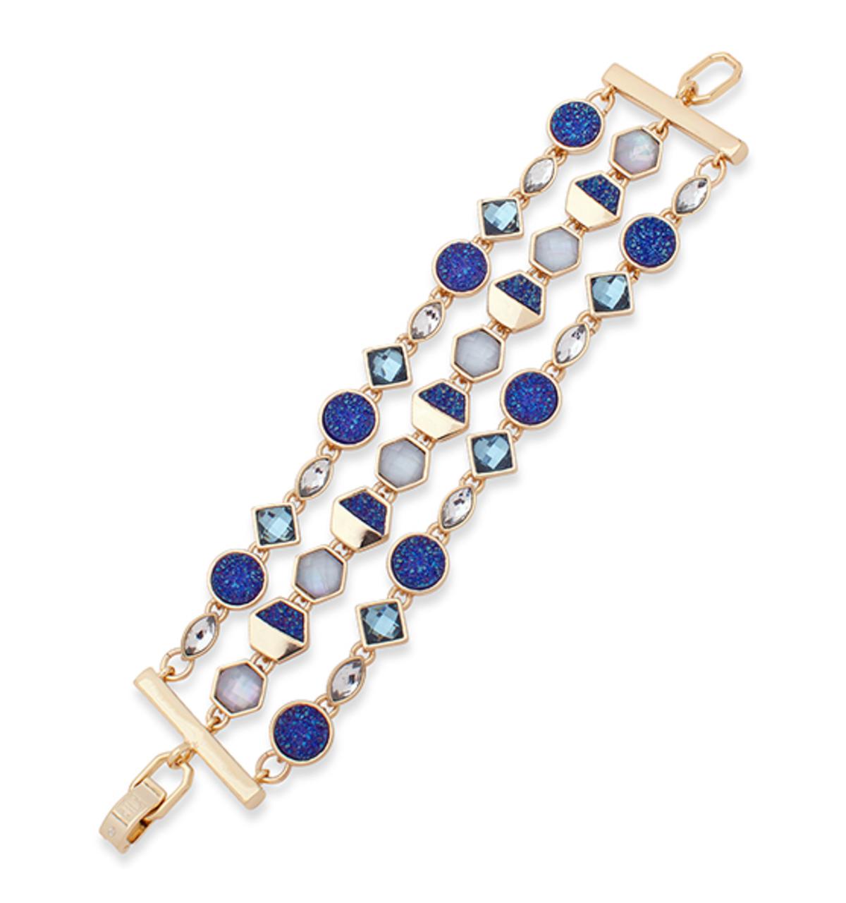 Chrystie 3 row flex bracelet