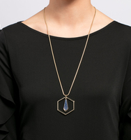 Chrystie adjustable pendant necklace