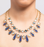 Chrystie adjustable frontal necklace 3