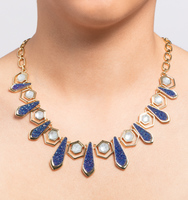 Chrystie adjustable drama frontal necklace 2