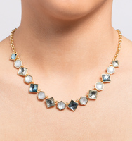 Chrystie adjustable drama frontal necklace 1