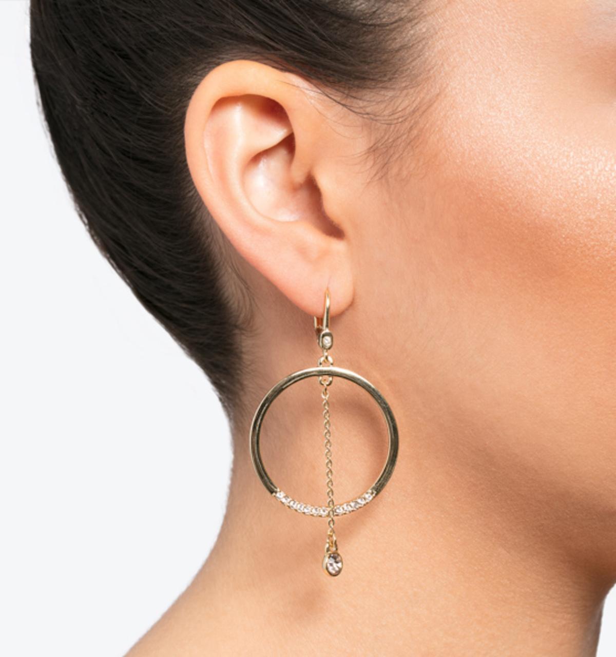 Soho social orbital earrings