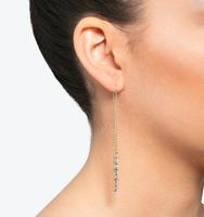 Soho social threader earring