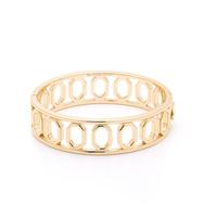 Wooster metal bangle gold
