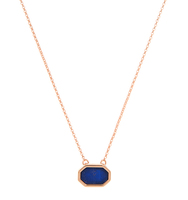 Broome adjustable 2 in 1 necklace blue 2