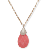 Pendant necklace ivanka trump coral