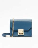 Hopewell mini shoulder bag insignia blue front ivanka trump