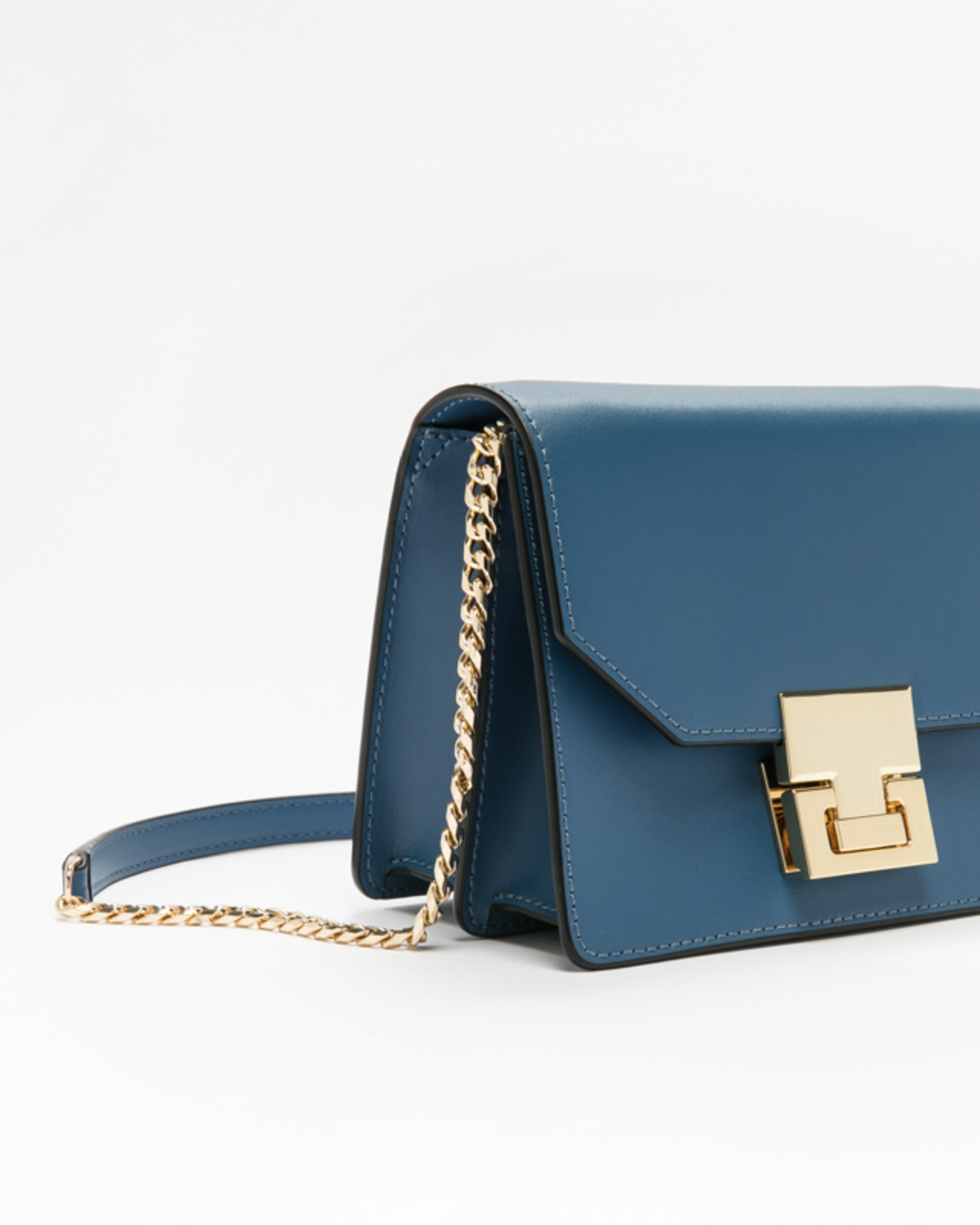 Hopewell mini shoulder bag insignia blue side ivanka trump