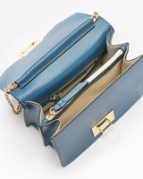 Hopewell mini shoulder bag insignia blue inside ivanka trump