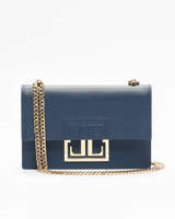 Mara cocktail bag insignia blue front ivanka trump
