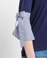 Tie the naut sweater navy detail ivanka trump