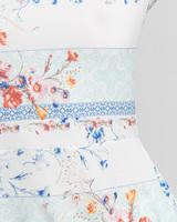 Tile inspired floral tee multicolor detail ivanka trump