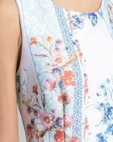 Tile print sheath dress multicolor detail ivanka trump