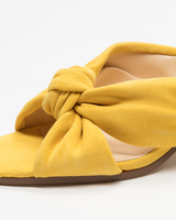 Earin mules yellow detail ivanka trump